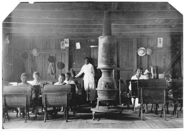 Σχολείο για νέγρους στο Κεντάκι (1916)