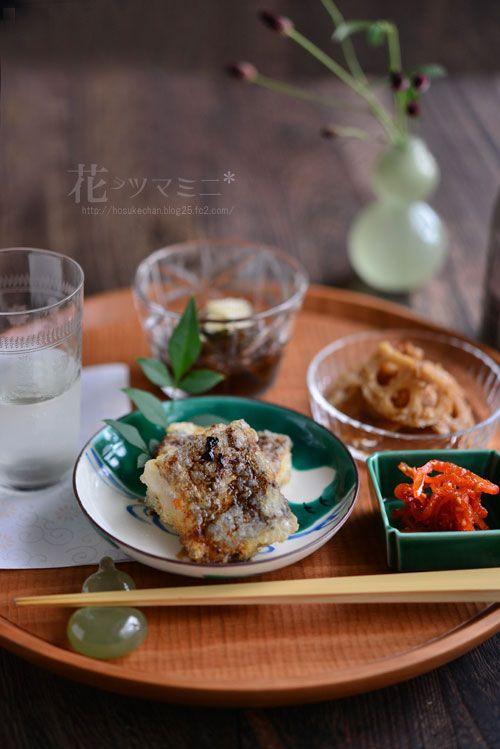 太刀魚の唐揚げバルサミコ醤油