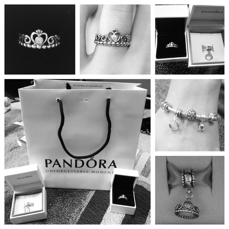 My Princess Ring And Charm From Pandora Jewelry