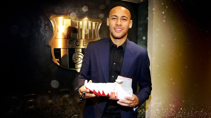 Gana las nuevas botas de Neymar Jr firmadas por él - FC Barcelona