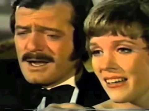 """My Cup Runneth Over"" Robert Goulet & Julie Andrews -  ROBERT GOULET TIMELESS! As always the chemistry between these two stars never fails. They are always just SPECTACULAR together."