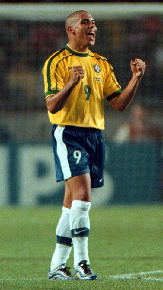 Ronaldo Nazario de Lima Mi Mayor Idolo de todos los tiempos!!!!! Gorducho