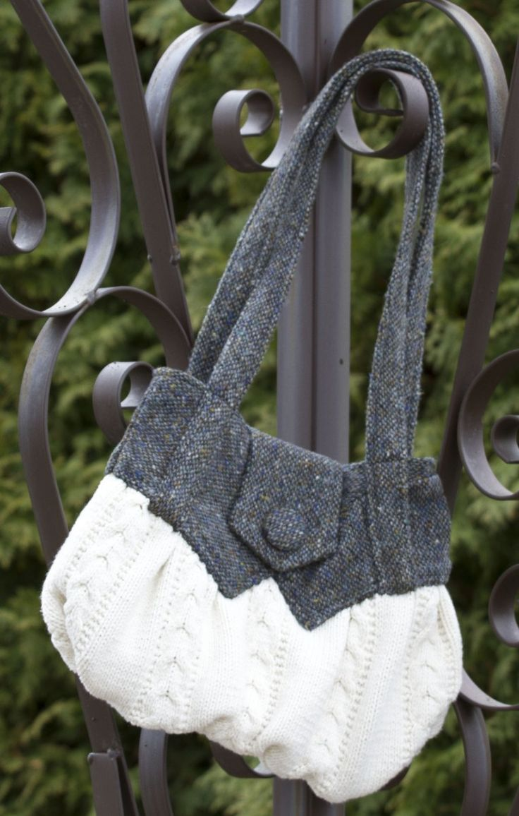 Give old clothing a new lease on life by designing and sewing a new handbag. Some used clothing have a lot of character and are made from beautiful fabrics that are hard to find. Take your o...
