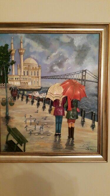 Ahşap rölyef Ortaköy
