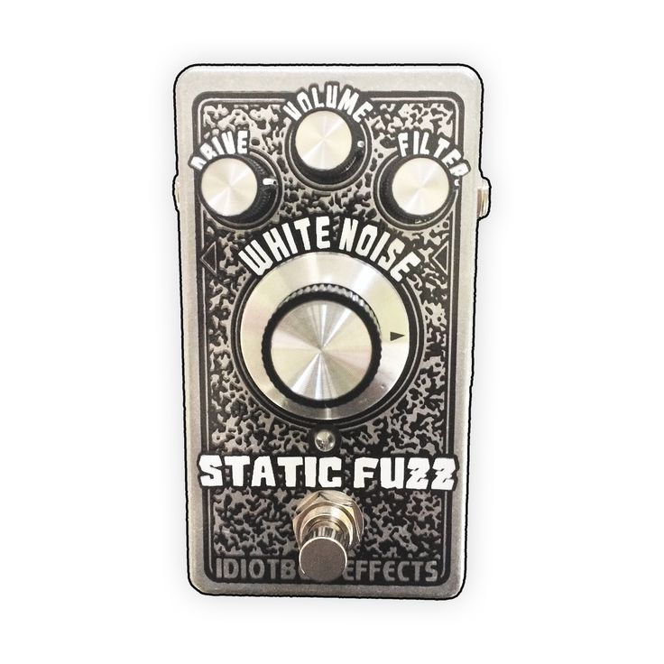 """The Static Fuzz is a gnarly fuzz that filters through a white noise """"static"""" generator.  It can go from crunchy overdriven """"tube"""" sounding fuzz to all out squashed and compressed to shit nastiness!This thing rules and is perfect for getting that dimed tube amp sound at normal volumes!!Kicks ass on guitar and bass!!!Drive, Volume, Tone and White Noise controls.SPECS:Smaller 4.7"""" x 2.6"""" x 1.5"""" 125B enclosure, true bypass switching, comm..."""