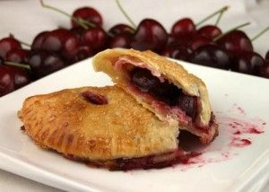 How to Make Fresh Cherry Turnovers | Recipe Girl