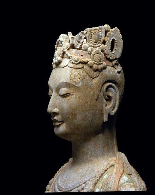 Standing Bodhisattva China, Northern Qi Dynasty, 550 - 577 A.D.