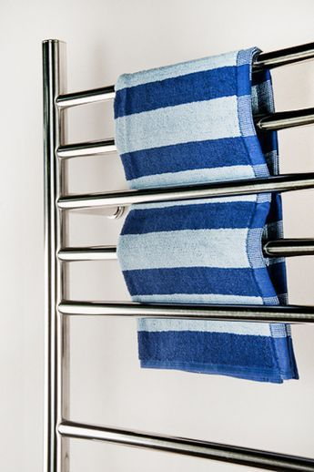 """Amba Radiant Straight Hardwired Mounted Towel Warmers - 23.75""""w x 31.5""""h - OnlyTowelWarmers.com - 3"""