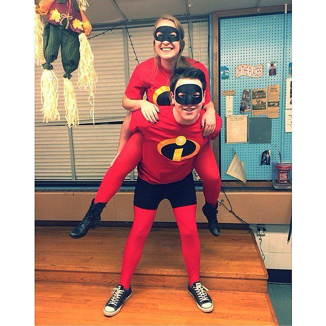 Dress up as The Incredibles to show off your power couple relationship this Halloween.