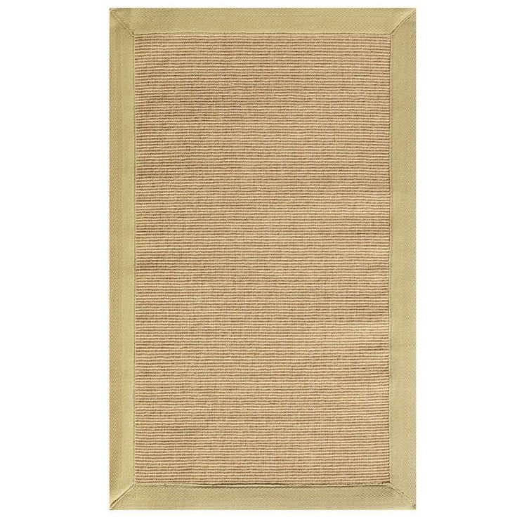 Washed Jute Beige 2 ft. x 3 ft. 5 in. Accent Rug