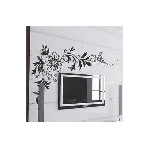 Best Decorative Wall Decals Images On Pinterest Decorative - How to put up a large wall sticker
