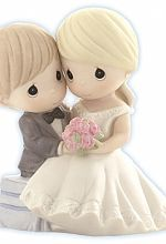 "Precious Moments ® ""To Have And To Hold Forevermore "" Wedding Cake Topper Figurine"