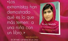 ¿QUIÉN ES MALALA? Malala es una adolescente Pakistaní que se dio a conocer por su lucha, desde muy temprana edad, en pro de los de...