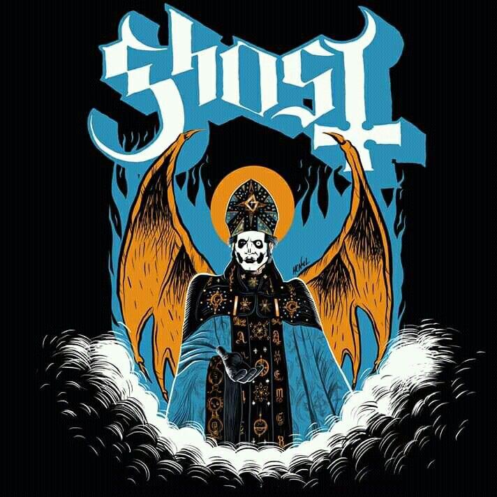 Ghost Papa Emeritus Iv Howie Noeldechen Ghost Papa Ghost And Ghouls Ghost Bc
