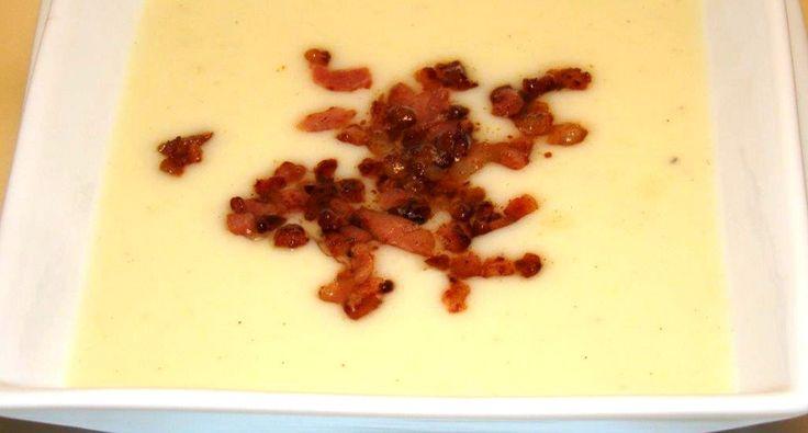 Burgonyakrémleves recept baconnal