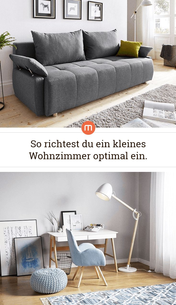 Die schönsten Möbel für ein kleines Wohnzimmer.