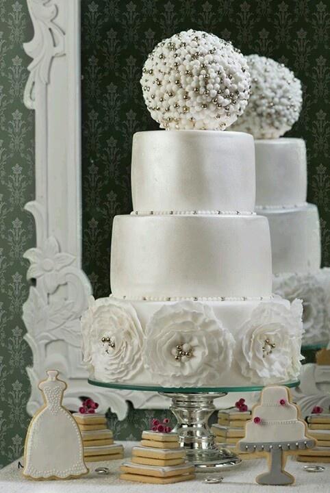 Pastel de  boda: Pastel Para, Cakes Anyon, Foundant Cakes, Pastel Especi, Cakes Decor, Wedding Cakes, Cakes Desserts Ideas, Pastel De, Beautiful Cakes