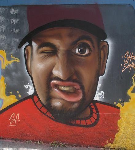 Sipros - Brazilian Street Artist