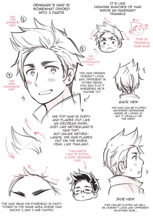 Denmark's Hair by ROSEL-D.deviantart.com on @deviantART good for cosplay or drawing reference