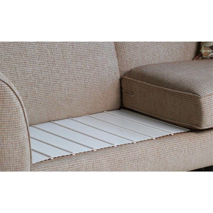 Sofa cushion lifters sagging sofa bed cushion support for Sagging sofa bed cushion support