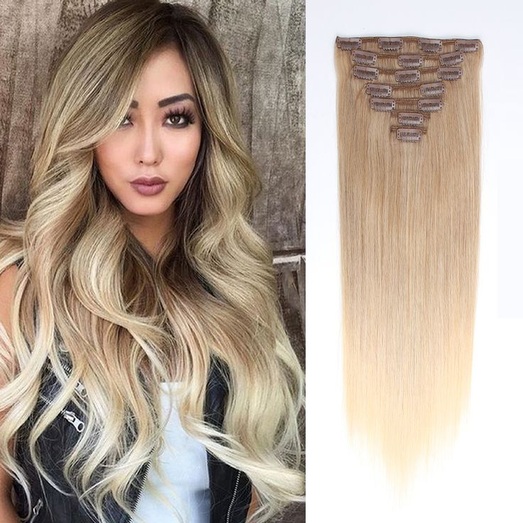 The 15 Best Clip In Hair Extensions In Various Colors Images On