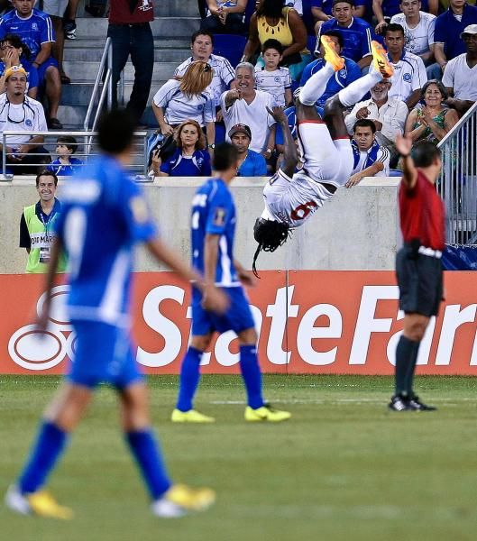 Trinidad and Tobago forward Kenwyne Jones CONCACAF Gold Cup