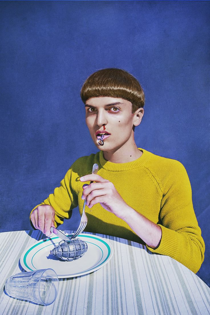 What I Eat - Marwane Pallas - A TROUBLED KID 2013, edition of 7 Diasecs