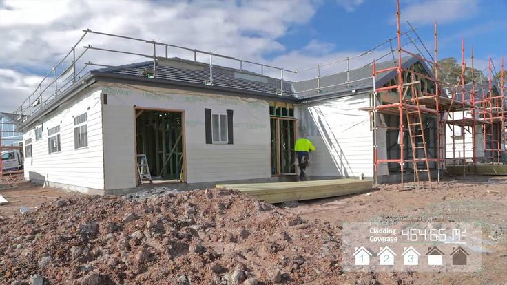 James Hardie - A Faster Way To Build. Watch a 3 man crew clad 5 homes in 5 days with James Hardie fibre cement weatherboards.