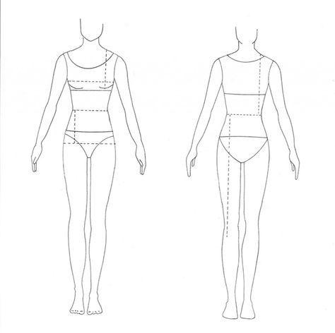 Les 25 meilleures idées de la catégorie Blank form sur Pinterest - blank fashion design templates
