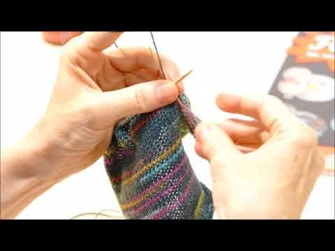 "Fischer Wolle ""Opal Relief - Die Kordel"" - YouTube"