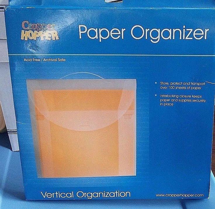 Cropper Hopper Expandable Paper Organizer, 12 x 12 | Crafts, Multi-Purpose Craft Supplies, Organization & Storage | eBay!