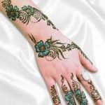 Pattern working for Mehndi Images