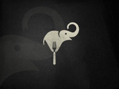 logo: 2 Logos, Elephants Logos, Elephants Ilustr, Elephants Éléphant Elefanten, Logos Design, Elephant Logo, Design Logos, Forks Inside, Logos Elephant