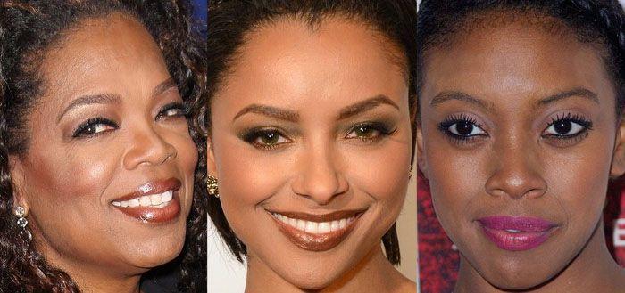 Maquiagem Oprah Winfrey, Kat Graham, Condola Rashad!