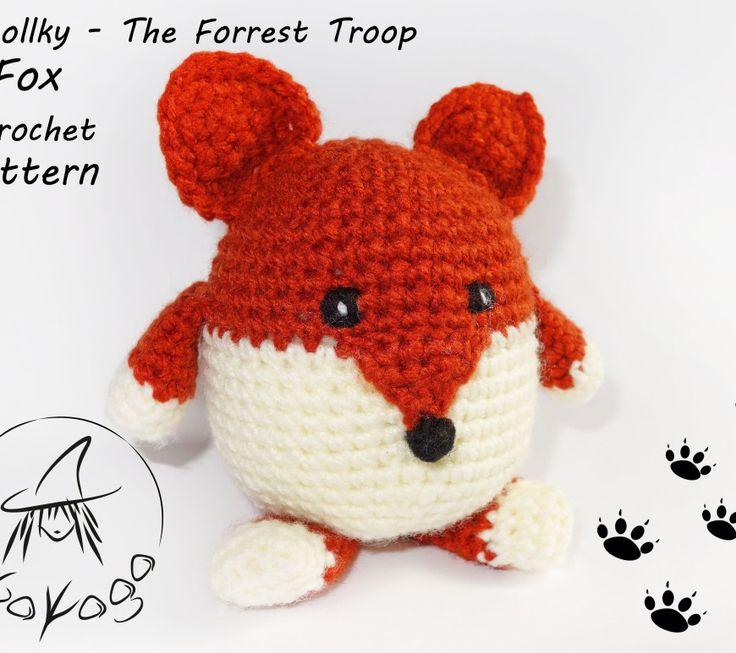 Fox - Woollky - The Forrest Troop - Free Crochet Pattern
