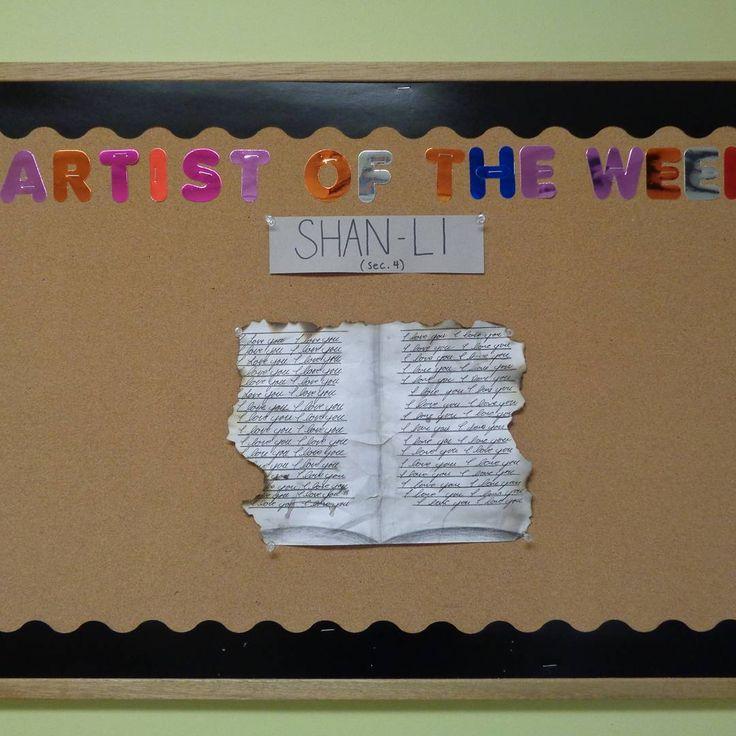 The artist of the week #NSA #Art #ArtistoftheWeek