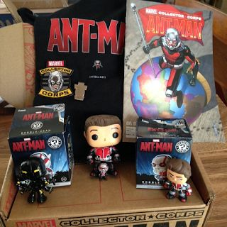Kerry's Subscription Box: Subscription Box Report: Marvel Collector Corps June 2015 #antman #ant-man #marvel #comics #comiccon #marveluniverse #marvelcomics #subscriptionboxes #subboxreport