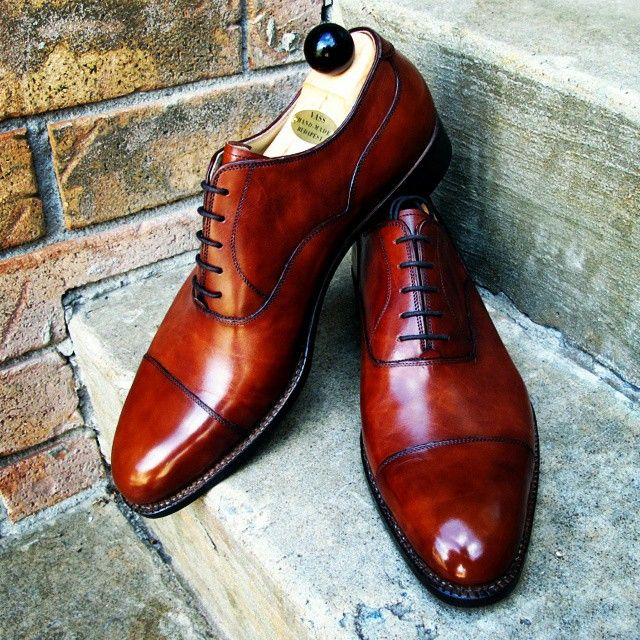 ...The Vass best selling model called the Old English made on the F last in Gold Museum Calf. Picture credit to our Canadian client. Ascot Shoes is a British based shop specialising in hand made Vass Shoes. Email Sammy for advice on Sizing, Fitting & Ma