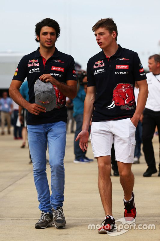 """Verstappen:""""What really sucks is that we're both under age and can't take advantage of all the free booze around here!"""""""