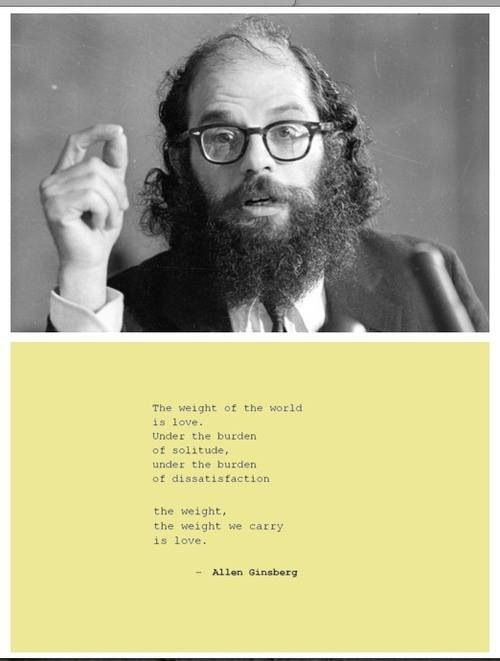 Beat generation writing quotes by edgar