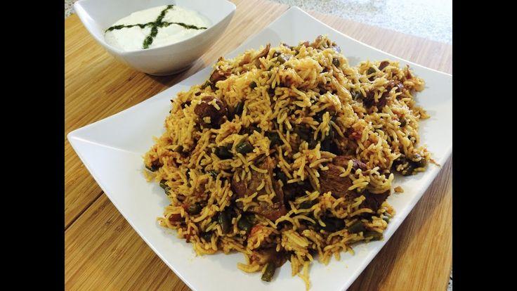 Lubia Polo (Persian Rice) - YouTube