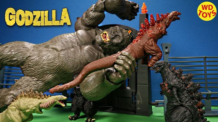 New 2016 Godzilla Toys 2nd Form, 3rd Form and Vinyl Movie Monster Series...