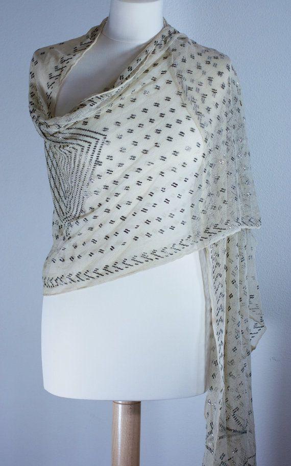 Art Deco Assuit Shawl