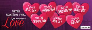 VALENTINE'S DAY: MAKE YOUR VALENTINE WEEK SPECIAL BY GIFTING SPLEND...