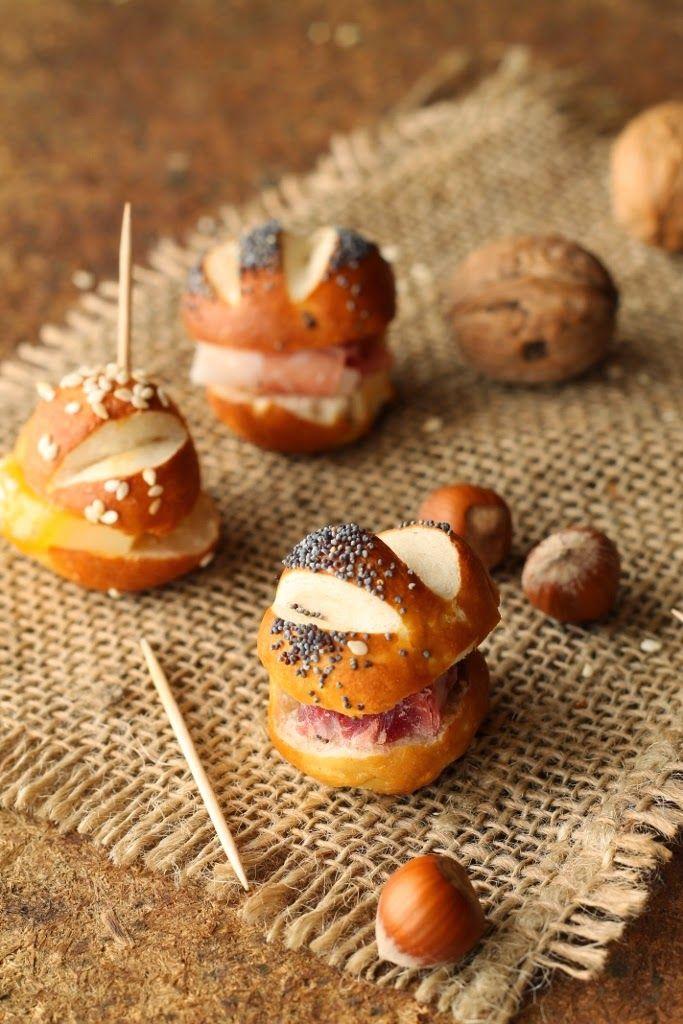 il profumo dei tarocchi: PANINI LAUGENBROT FINGER FOOD.