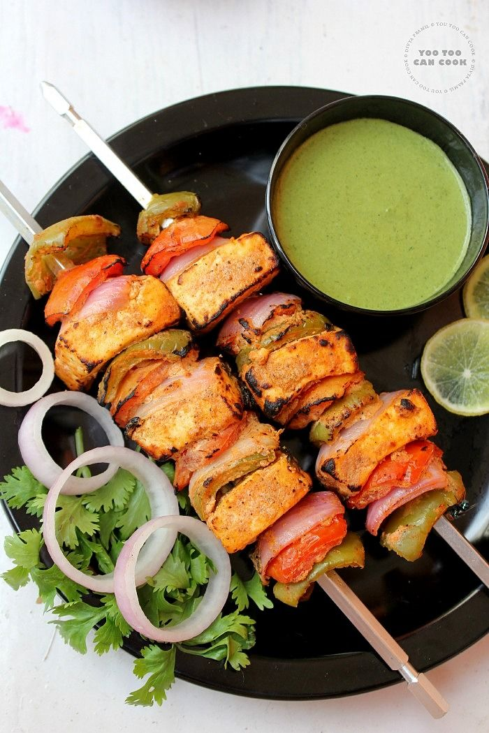 Paneer Tikka - Try these delitious Indian food yourself!  #paneer #food #indianfood #Zaika  http://zaikaofkensington.com/