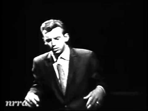 """Bobby Darin """"Mack the Knife"""" i have liked this song ever since I was knee high to grasshopper i've always liked it"""