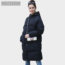 MECEBOM Women's Parkas 2017 fashion black lady coat winter hooded coat parkas outwear long Cotton Padded Jacket 928c //Price: $US $29.00 & FREE Shipping //     #hashtag4
