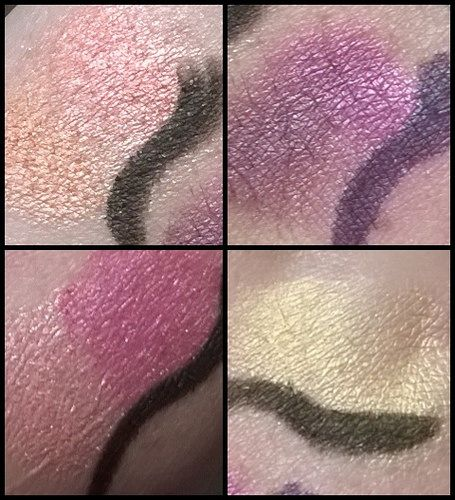 swatch 88 colours eyeshadow palette (10)