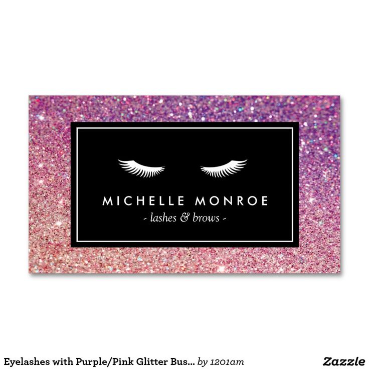 39 best Business Cards for Lash Extensions images on Pinterest ...